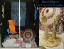 Beach display cv