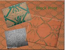 Block print cv