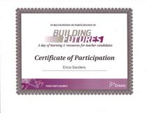 Building futures cv