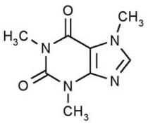 Caffeine structure cv