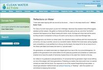 Reflectionsonwater screenshot cv