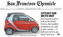 Sf chronicle cv