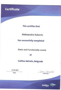 Galileo cv