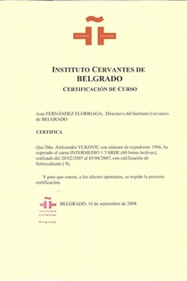 Cervantes b1 cv