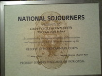 National sojourners cv