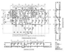 Plan and section cv