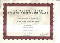 Sports award 001 cv