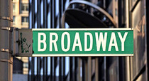 Broadway sign cv