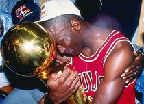 Michael jordan first trophy cv