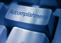 Accomplishments cv