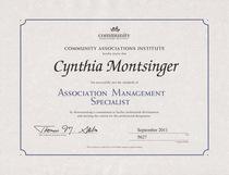 Ams certification cv