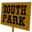 South park sign icon cv