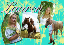 Lauren collage cv