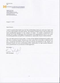 Scan of deans letter recommendation cv