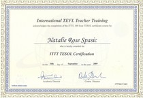 Natalie spasic tefl certificate 1  cv