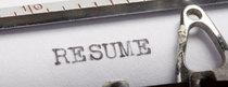 Resume banner cv