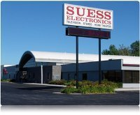 Suess electronics logo sign cv