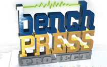 Bench press icon cv