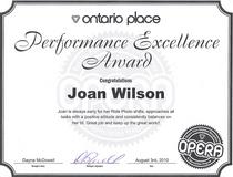 Ontarioplaceaward cv