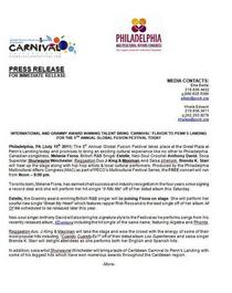 Gff press release cv
