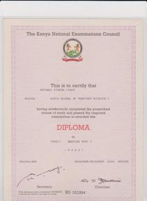Diploma banking cv