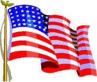 American flag cv