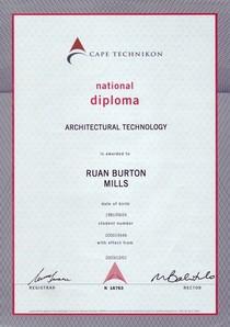 National diploma cv