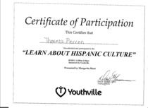 Hispanic culture cv