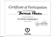 Training 1 cv
