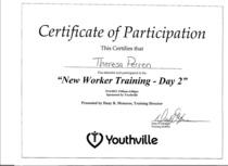Training 2 cv