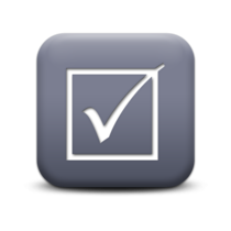 Grey evaluation icon cv