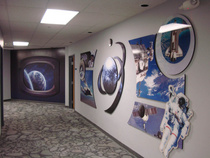 Space wall graphics cv