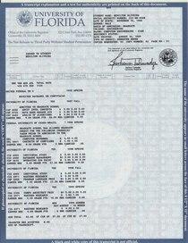 Uf grades cv