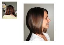 Catie haircut 1 cv
