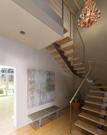 Apt a   stairs1 cv