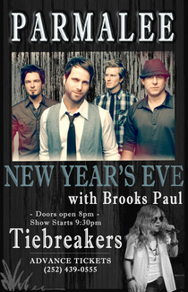 New new years parmalee with brooks paul cv