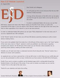 New ejd website launched cv