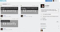 Storify feedback cv