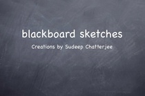 Blackboard sketches cv