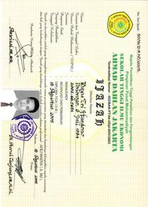 Copy of ijazah cv