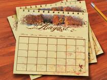 Calendario octubre cv