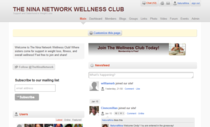 The nina network wellness club social networking cv