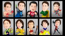 Caricatures cv