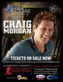 Craig morgan poster 650 cv