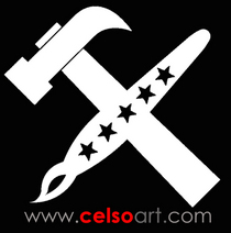Logo celsoart video cv
