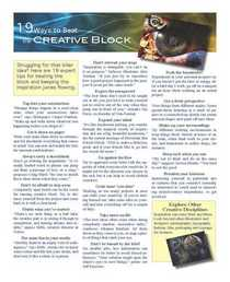Dreammaster newsletter page 2 cv