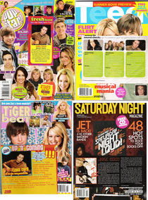 Teen clippings cv