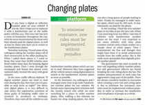 Changing plates 3 march 2011 cv