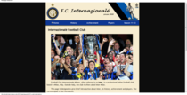 Internazionale footbal club 000343 cv