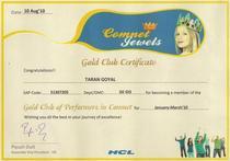 Gold small cv